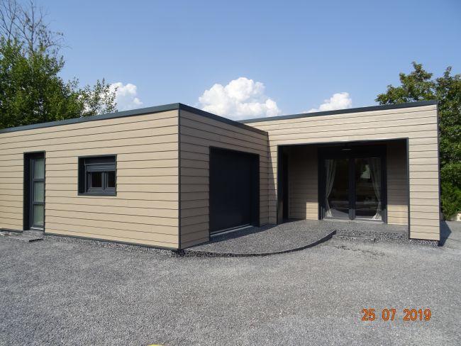 MAISON DE CONSTRUCTION BOIS  DE 2018 AVEC TERRAIN ET GARAGE À FLIZE