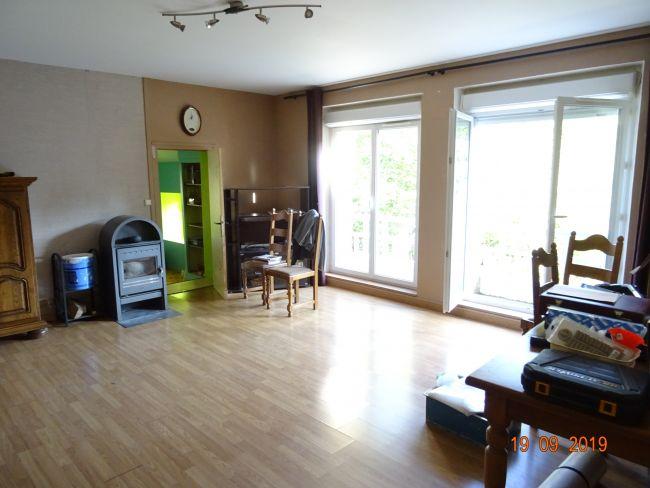 Appartement avec jardin dans une petite copro 5 mn du centre ville