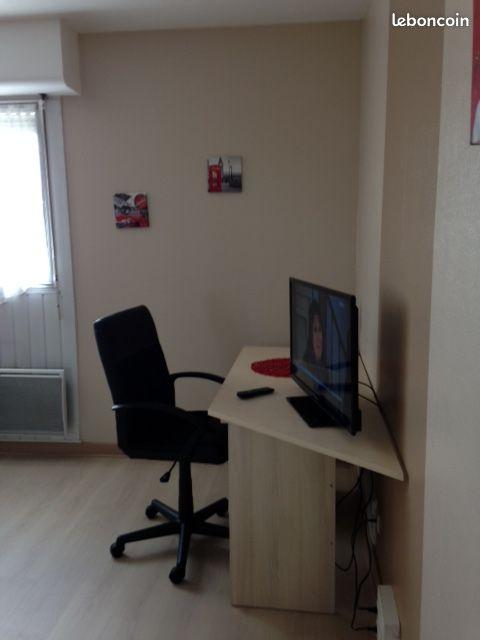 Appartement de 35 m2 SH (Loué) au 4 ème étage avec Asc en résidence sécurisée proche du centre