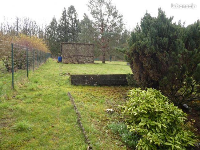 Maison de pierre de 103 m2 sh sur 1624 m2 de terrain à Nouzonville